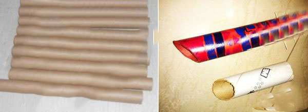 关于纸筒纸管回收再利用的创意设计,是由意大利设计师Paola设计。两个半块茶几和三把椅子,每把椅子由不同高度的300AA纸管组成,茶几是有机玻璃切割和手工制成的,这设计专利被豪华大酒店Varese所购买,可想而知创意的价值是无限的,这让我想起我们小时候试过用纸筒纸管等制作成笔筒,难道每个人都有成为设计师的天赋?接下来巧云纸管厂家为您介绍一下最新的纸管创意作品:纸管DIY风铃。 温暖潮湿的春风吹绿了柳条、吹高了小草、也吹开了桃花。在家里迎接和煦的春风,挂饰一个亲手利用纸管纸筒制作的diy风铃,让春天的使者用